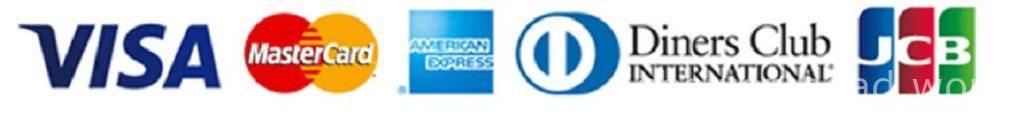 ミラブル購入時に使えるクレジットカードの国際ブランド一覧